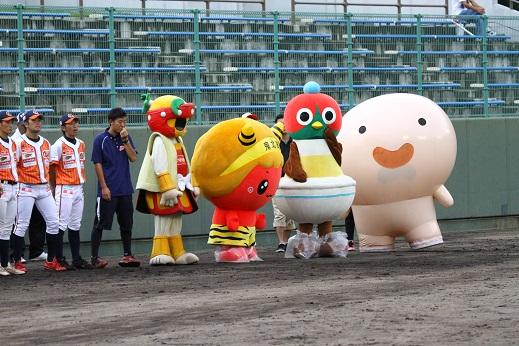 2014.8.5(火) vs香川OG @宇和島市営丸山球場|トピックス|愛媛マンダリンパイレーツ公式サイト